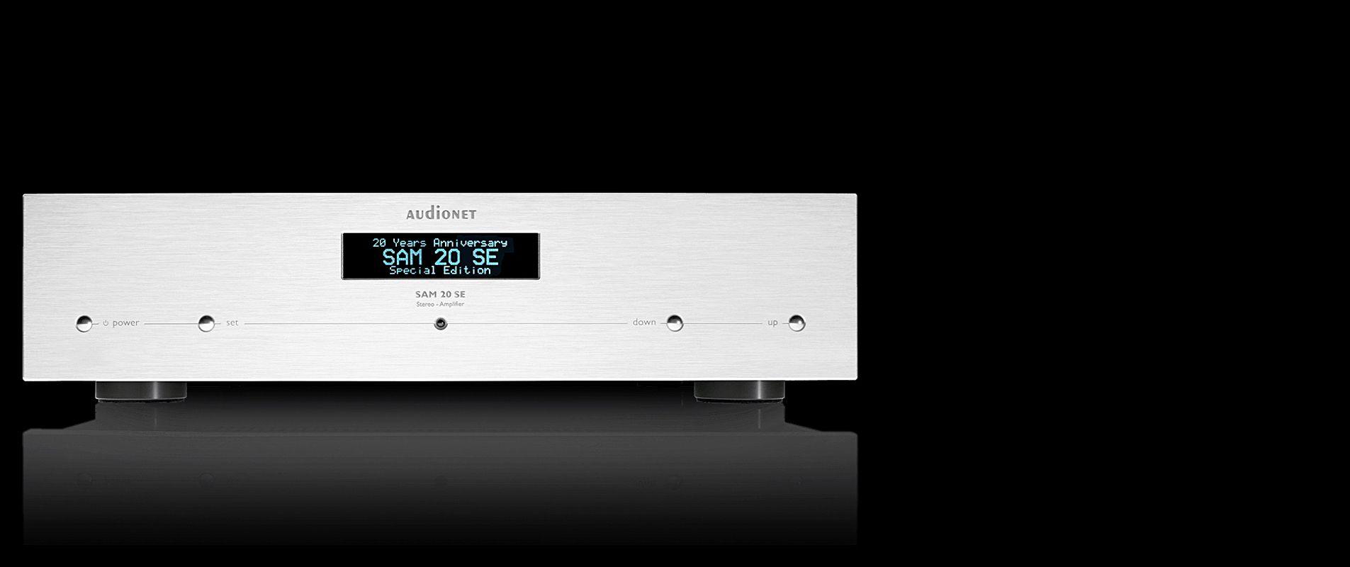 Vollverstärker SAM 20 SE von Audionet